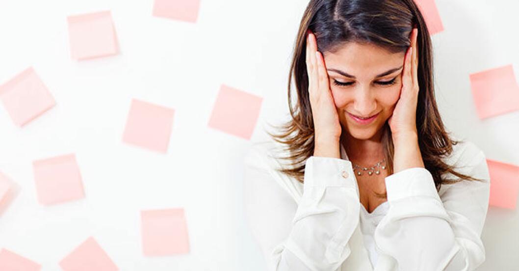 bli mindre stressad och mer effektiv