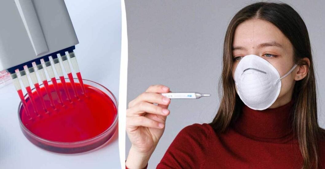 Blodgrupp kan göra skillnad i om man blir sjuk av covid-19.
