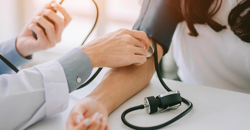 mäta blodtryck, blodsocker, blodfetter, blodvärde
