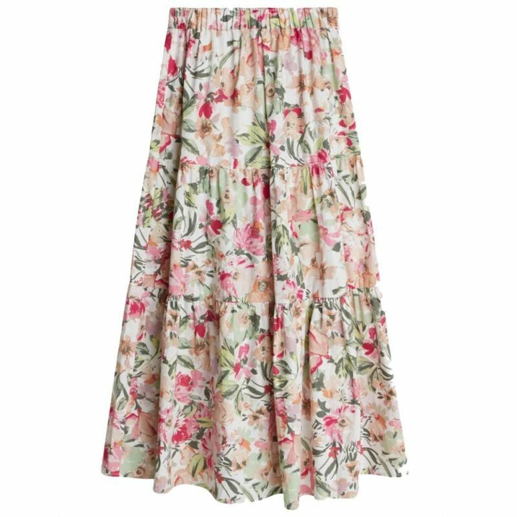 Blommig kjol från Gina tricot