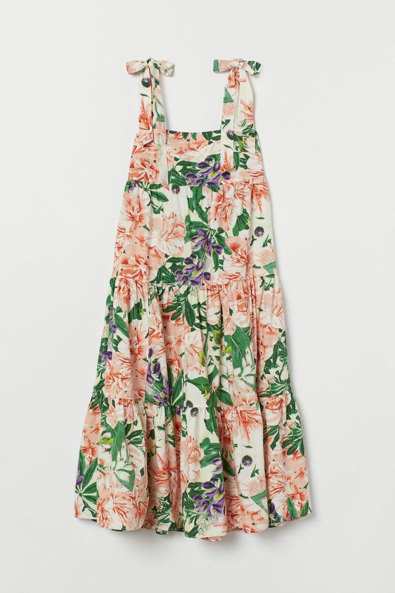 Blommig klänning H&M