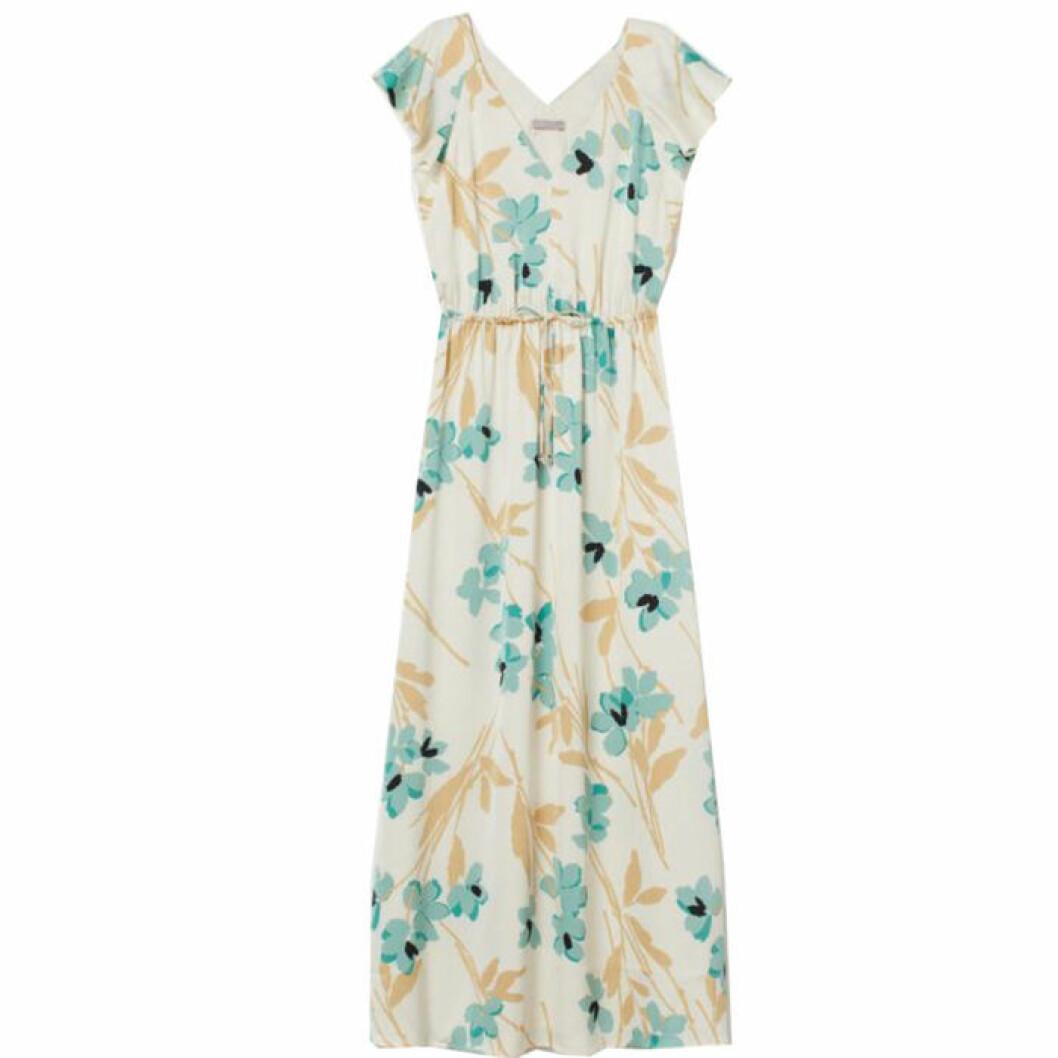 Blommig festklänning från H&M