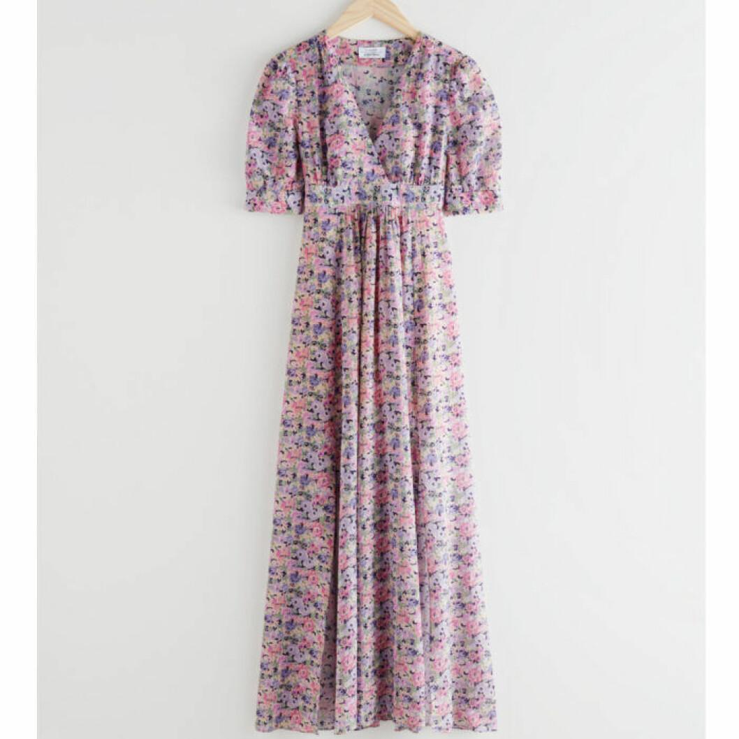 Blommig klänning från & Other Stories