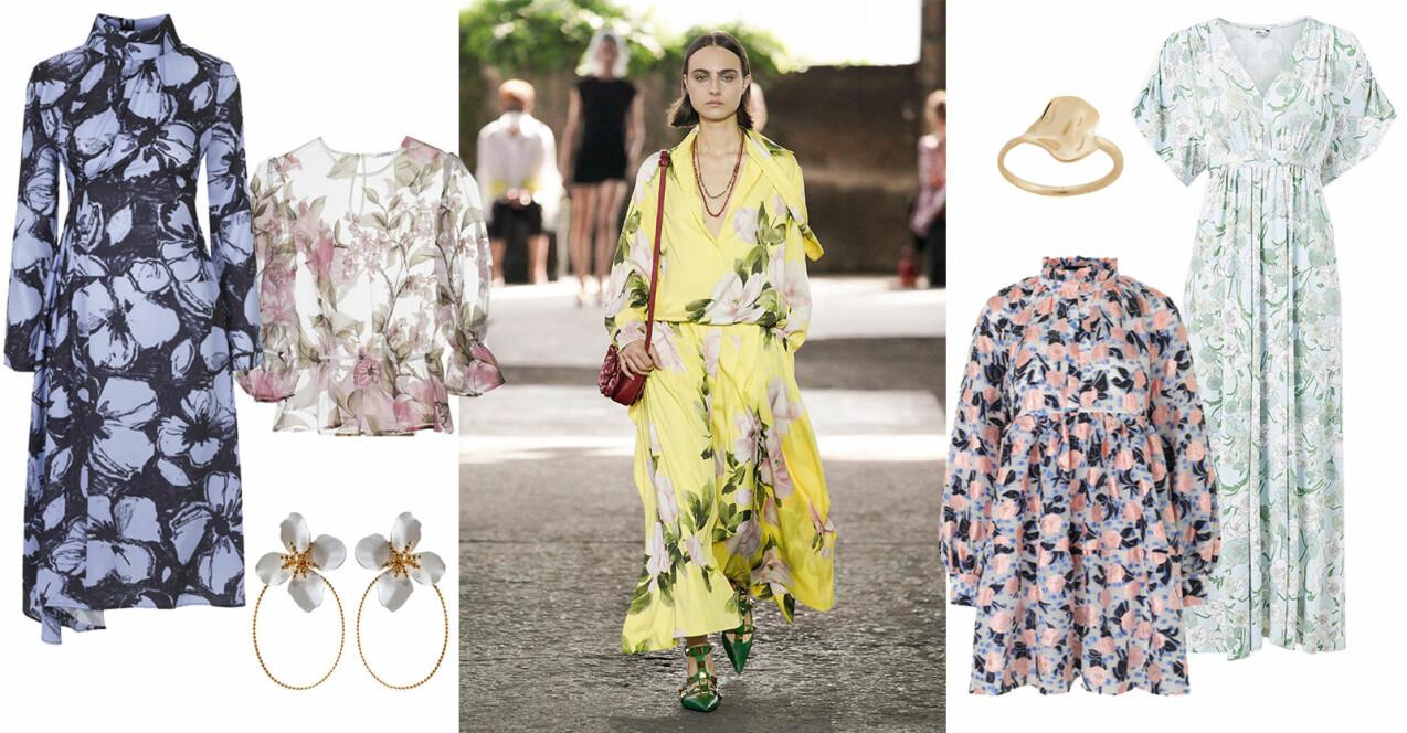 blommiga kläder för dam sommar 2021