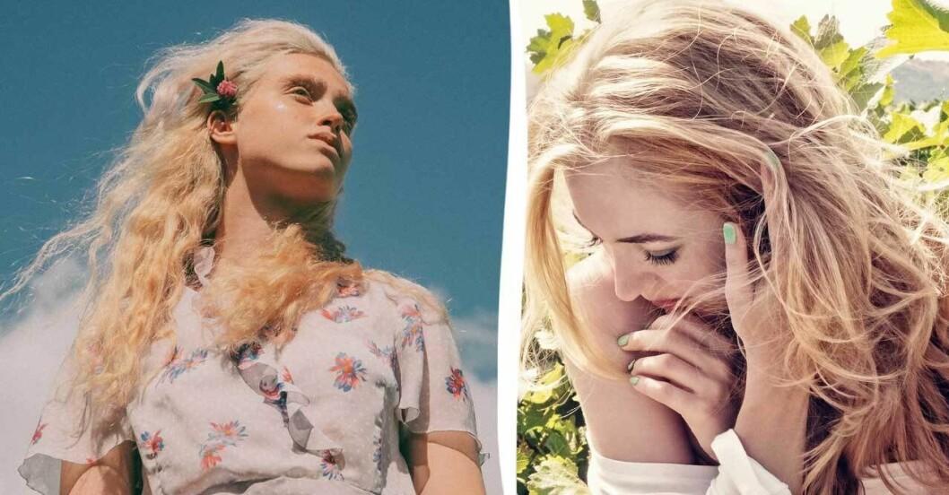 Blonda kvinnor.