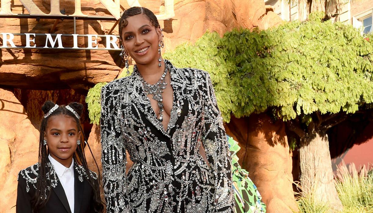 Blue Ivy Carter och mamma Beyoncé Knowles
