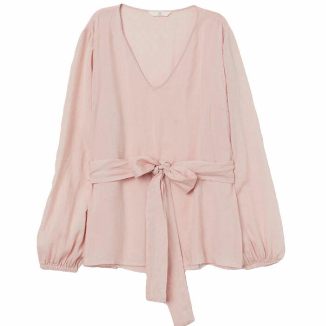 Rosa blus från H&M
