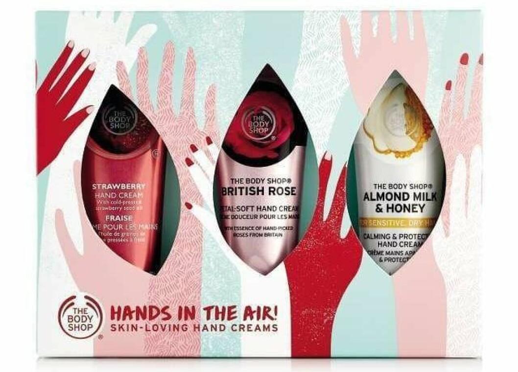 En bild på produkten Hand Cream Trio som går att köpa på Body Shop.