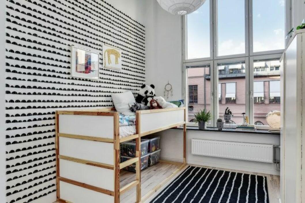Williams rum i Bonusfamiljen- nu är lägenheten i Sundbyberg till salu!