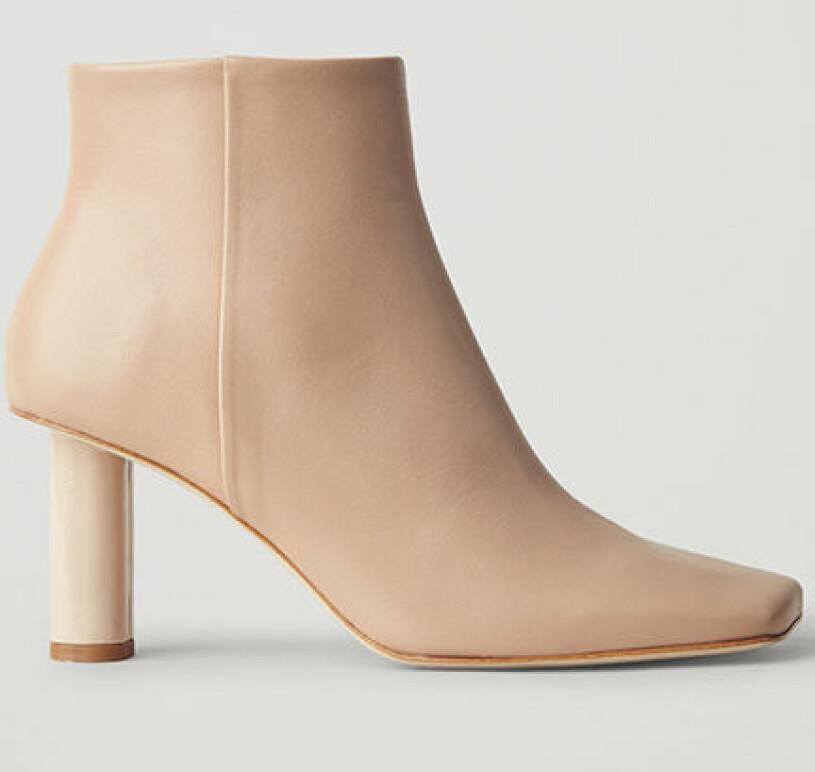 boots beige cos