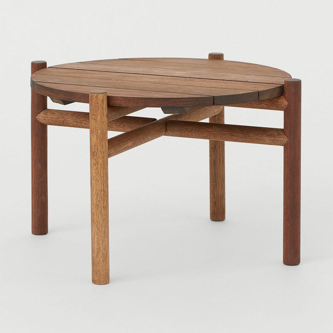 bord för både inom- och utomhusbruk från H&M Home 2020