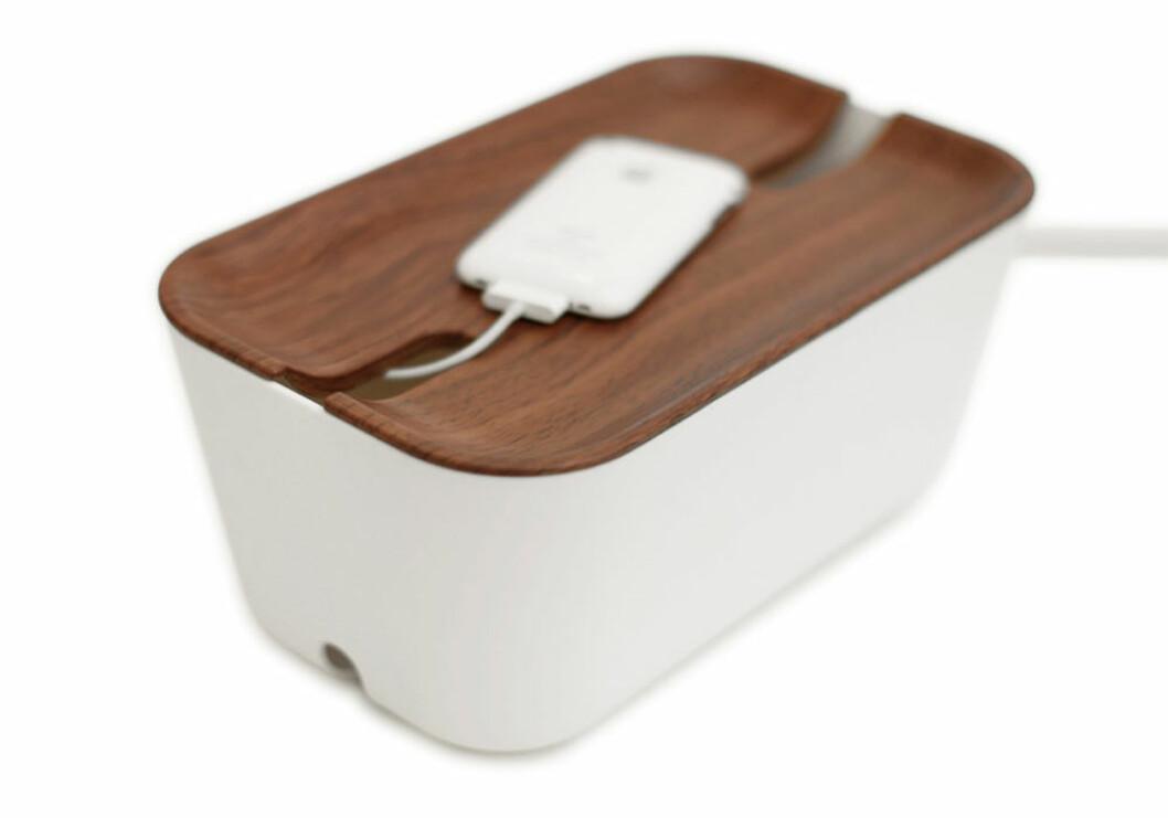 låda för sladdar och kablar