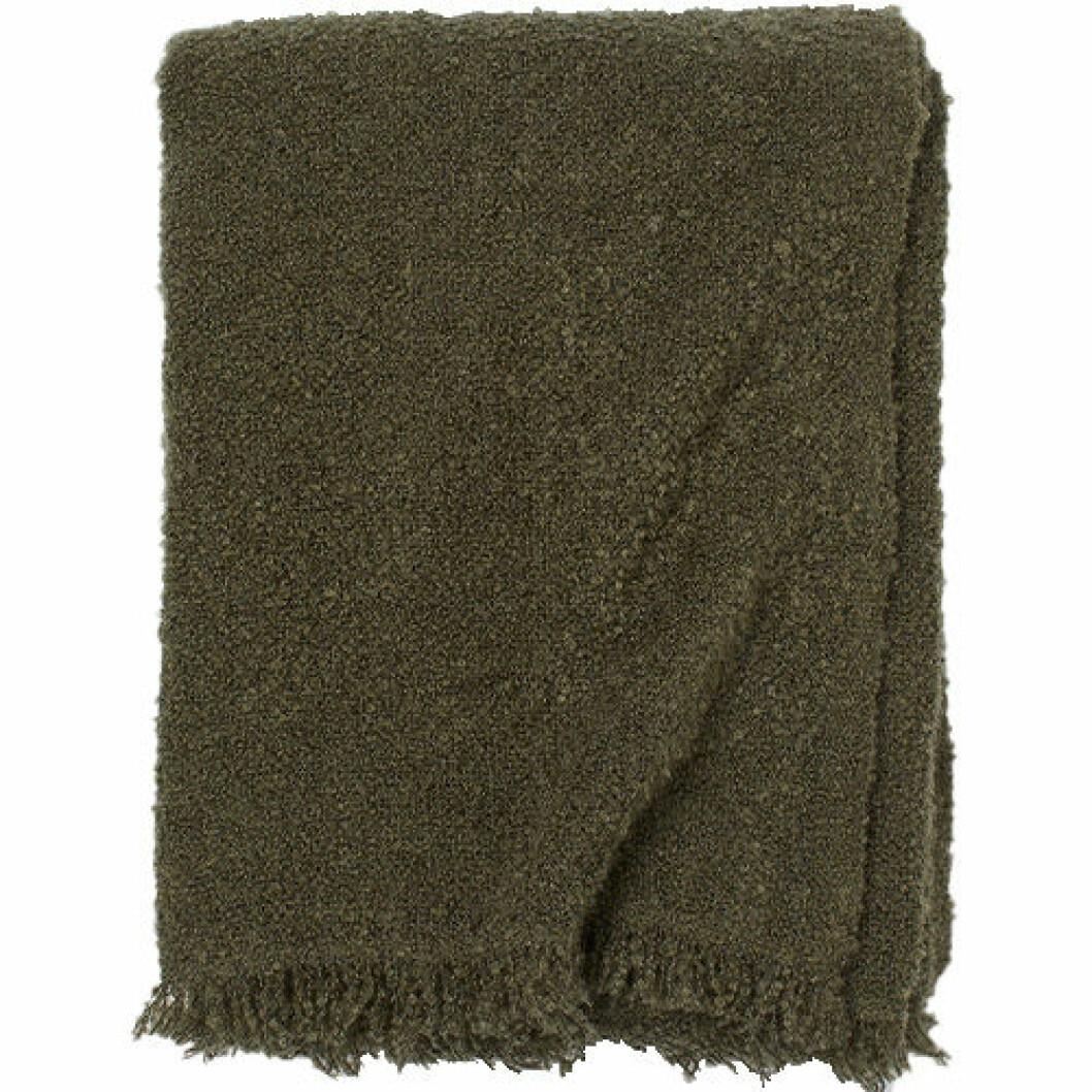 Khakigrön filt, 149 kronor.