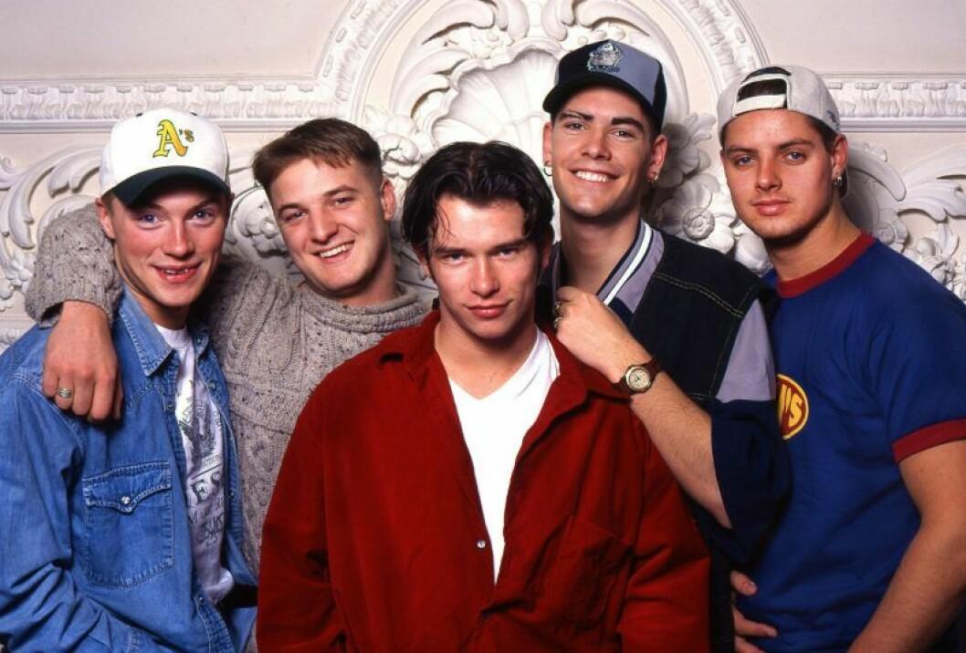 Boyzone i starten.
