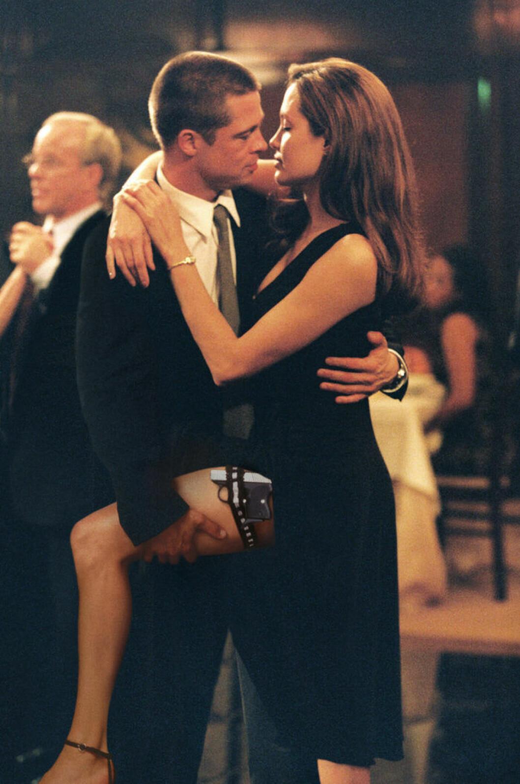 Brad och Angelina i Mr och Mrs Smith
