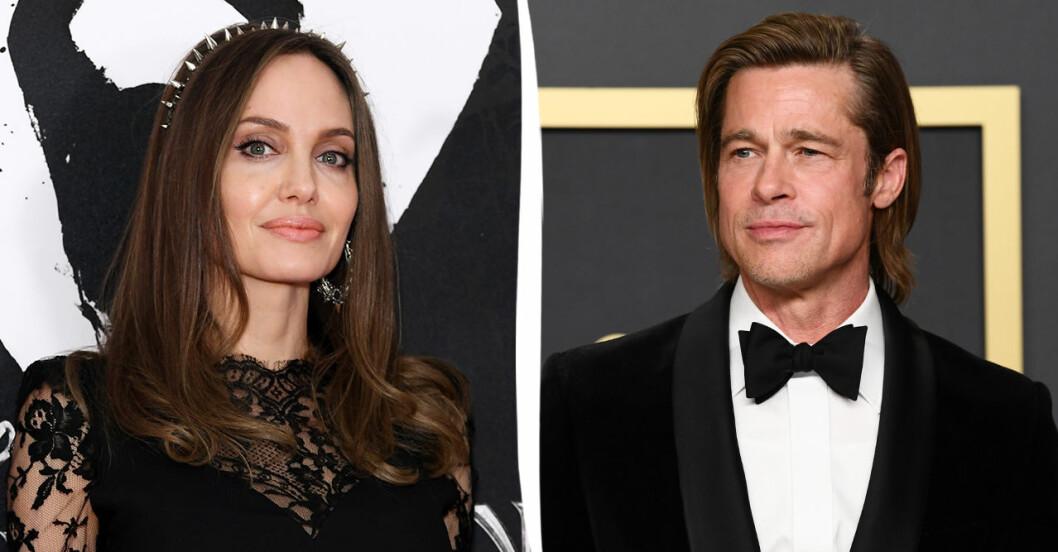 Angelina Jolie ska ha lämnat in dokument där påstår sig ha bevis mot exet Brad Pitt.