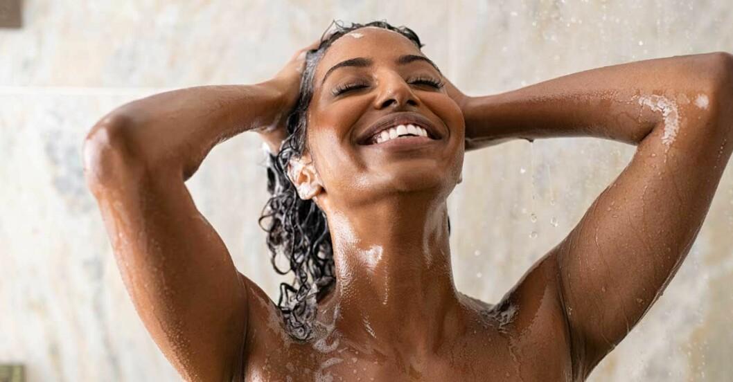 Bra schampon för torrt hår