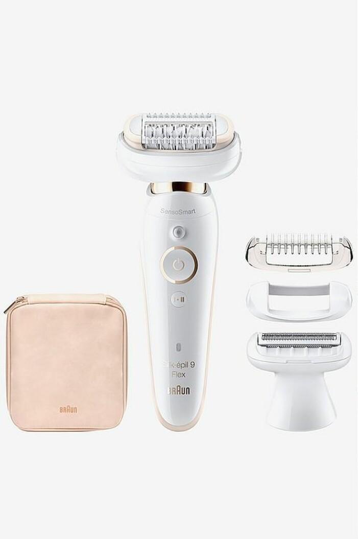 lyxig hårborttagningsapparat från braun