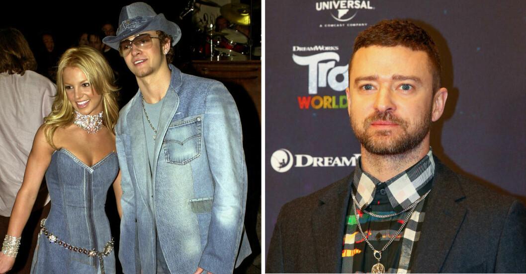 Britney Spears och Justin Timberlake.
