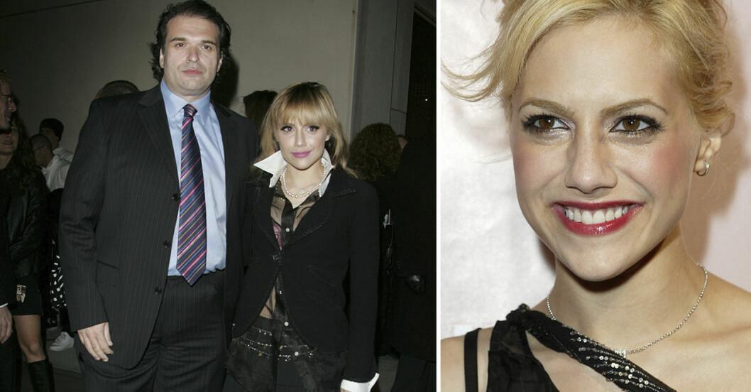 Brittany Murphy och maken Simon Monjack.