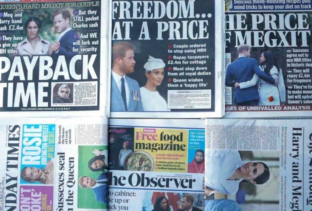 Brittiska tidningar