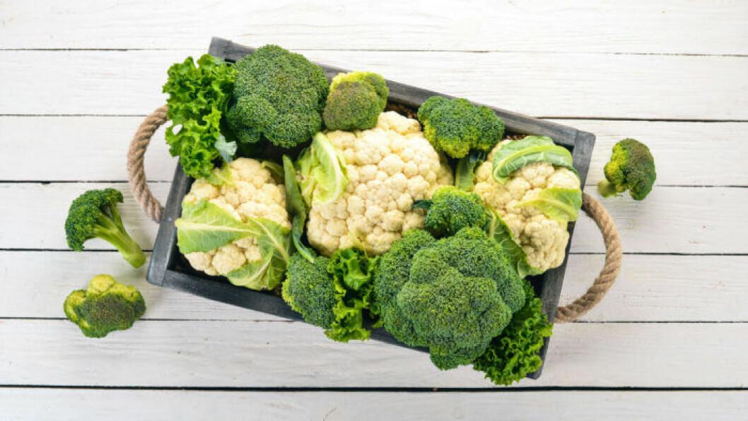 Broccoli äter du bäst rå.