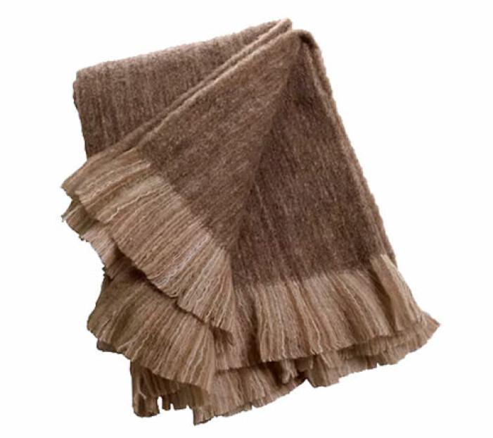 brun pläd