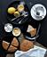 Utsökta scones bakade på mandelmjöl.