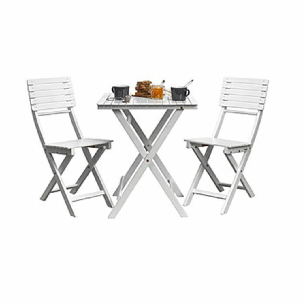 budgetmöbler till balkongen stolar och bord