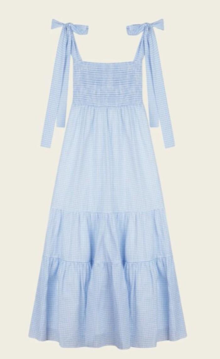 rutig klänning från By Malina