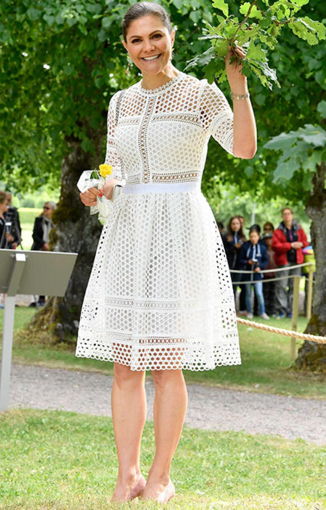Vit klänning från by Malina