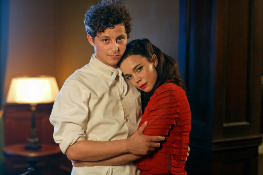 Calle och Nina i första säsongen av Vår tid är nu
