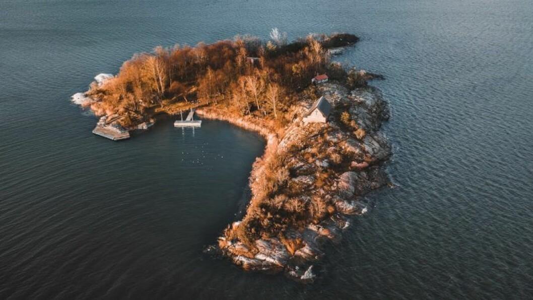 Naturfoto över Capella, St Anna Skärgård