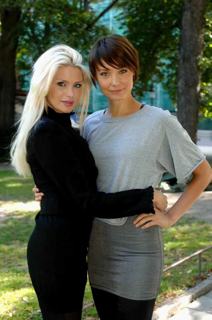 Carolina Gynning och Carina Berg