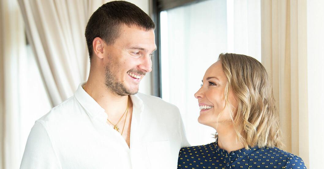 Carina och Erik Berg väntar barn igen – första orden om lyckan.