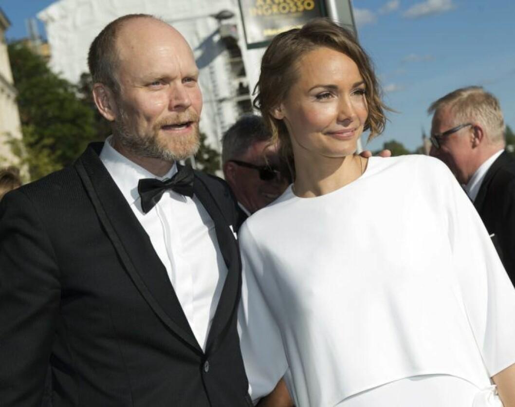 Carina Berg och Kristian Luuk på Polarpriset.