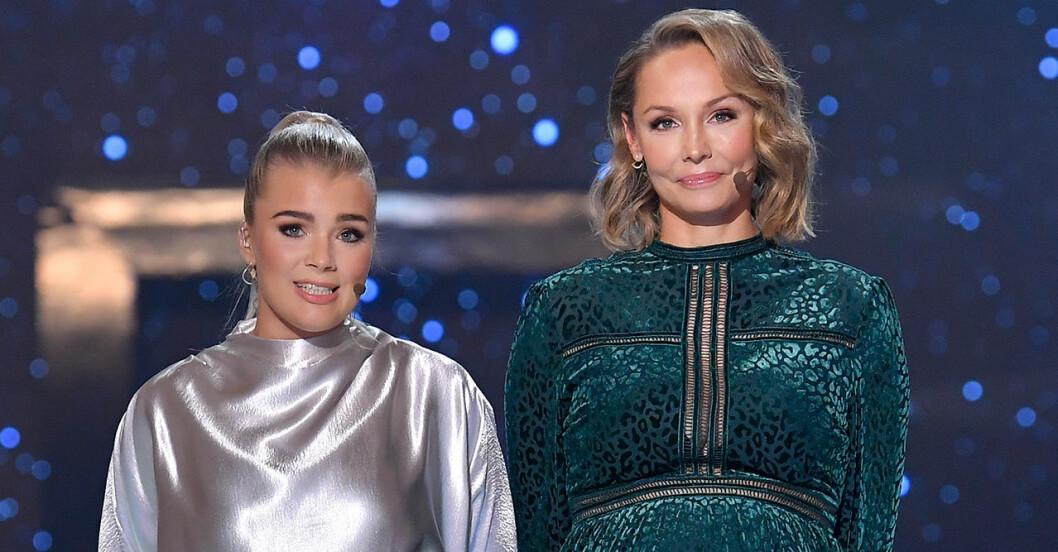 "Carina Berg och influencern Kristina ""Keyyo"" Petrushina ledde Barncancergalan 2019"