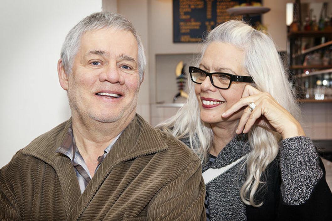 Carl Johan De Geer och Marianne Lindberg De Geer