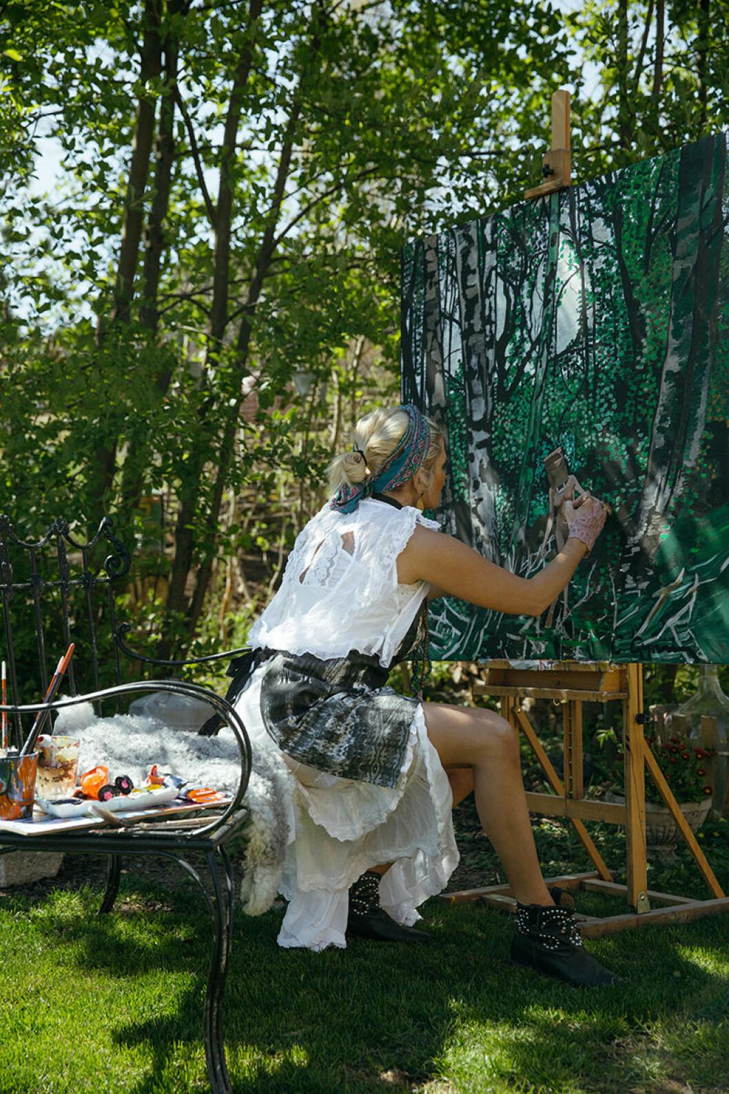 carolina gynning art therapy