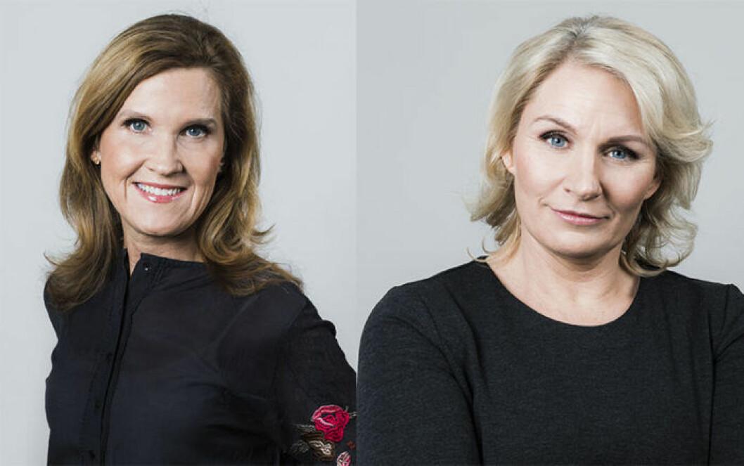 Carolina Tristen och Emma Karling Widsell, författarna till Ditt fertila liv.