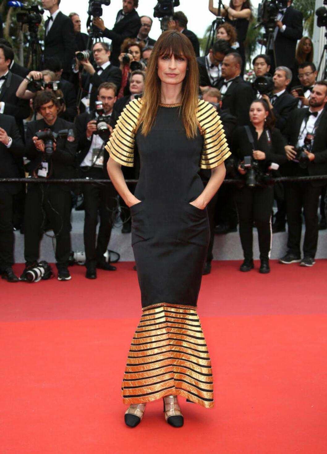 Caroline de Maigret på filmfestivalen i Cannes 2019