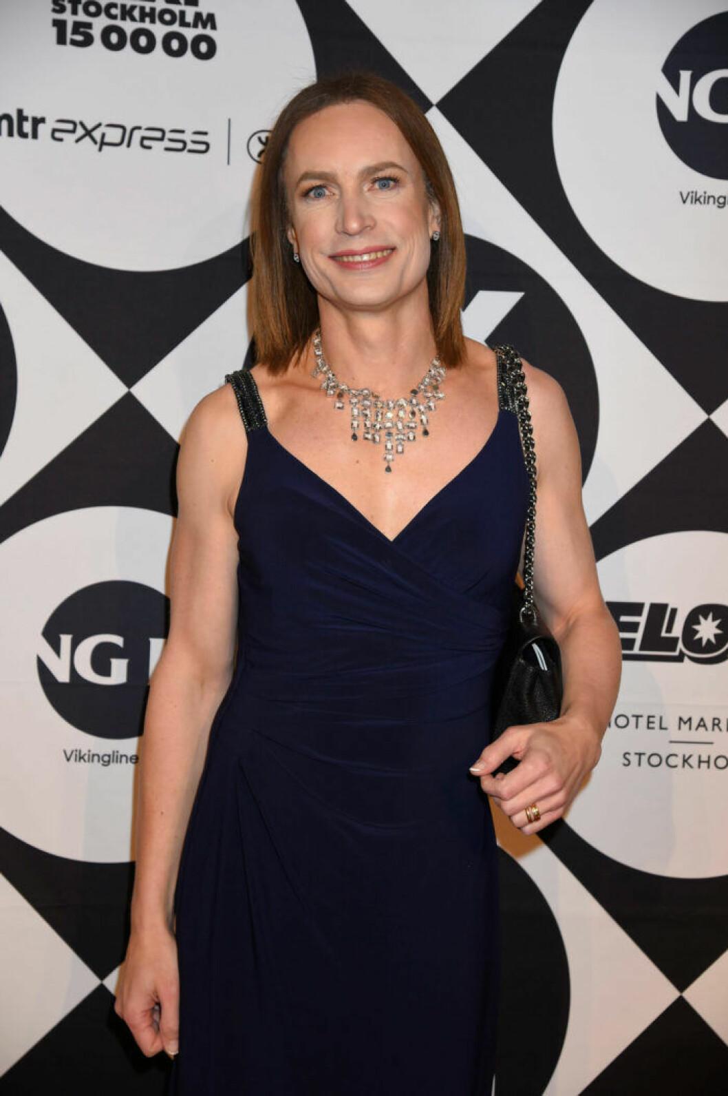Caroline Farberger på QX-galan 2019