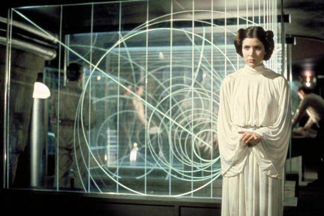 Carrie Fischer i Star Wars