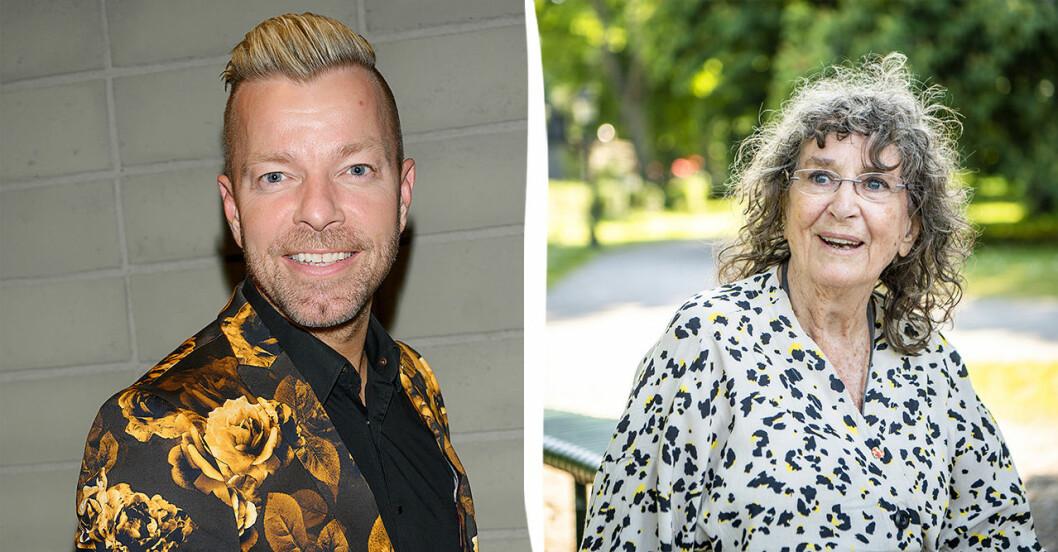 Casper Janebrink och Siw Malmkvist.