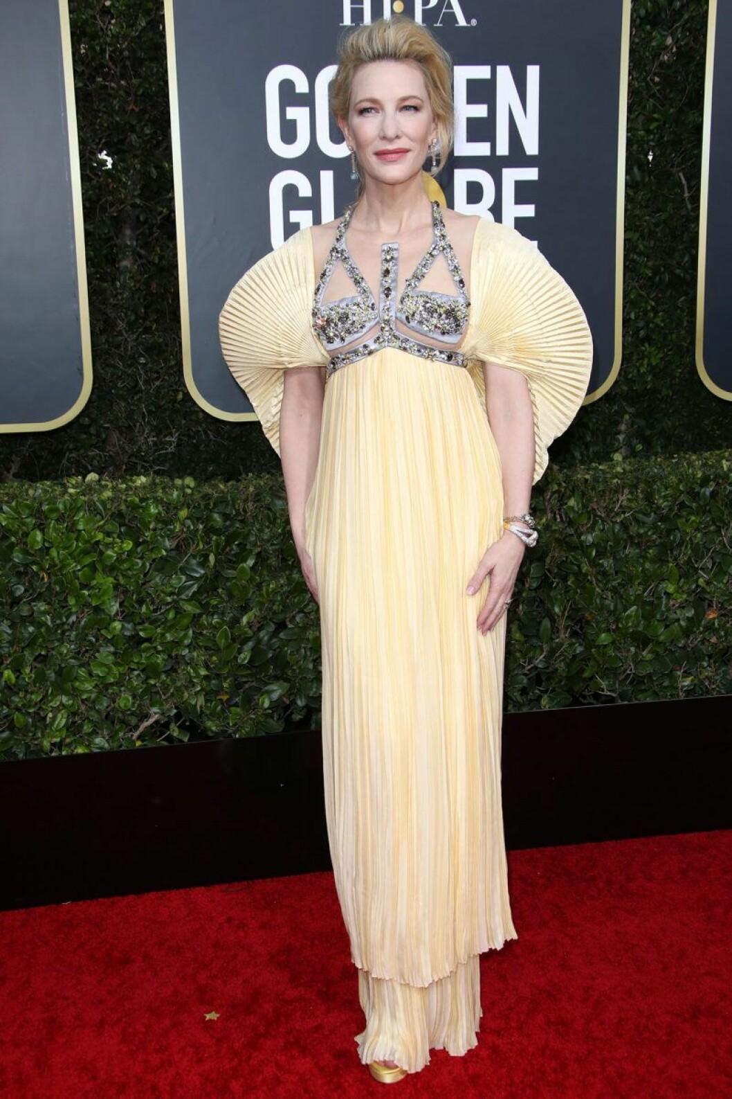 Cate Blanchett på Golden Globes.
