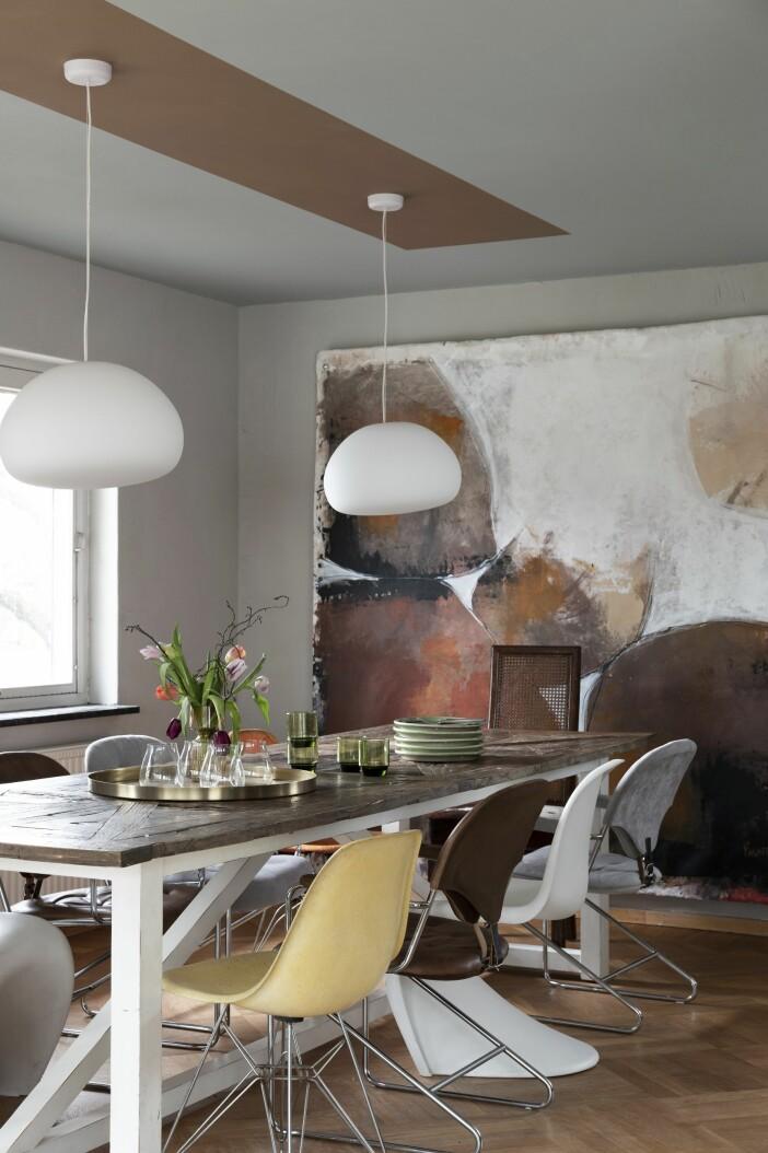Hemma hos Cecilia Blankens matsal tavla