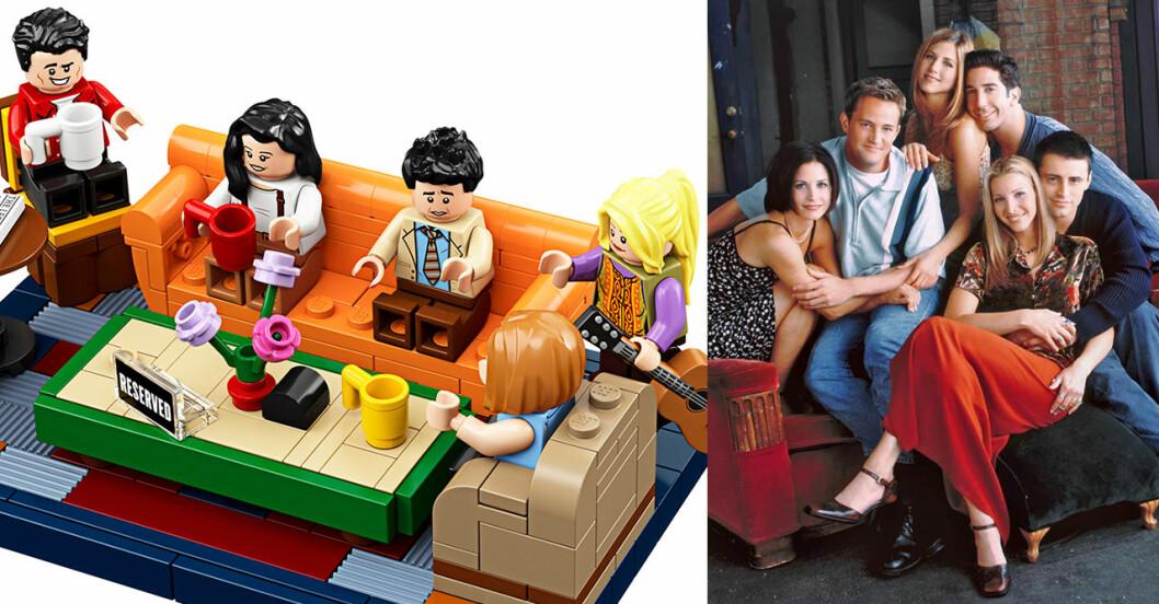 Nu blir tv-serien Vänner Lego