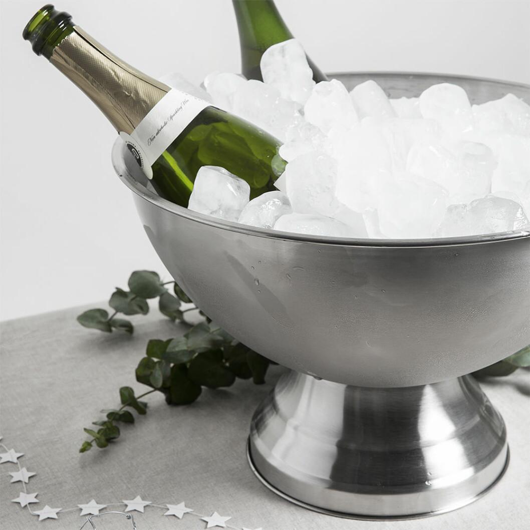 Champagnekylare i rostfritt från Granit