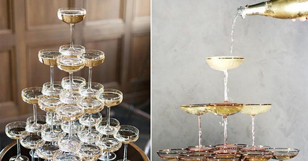 bygg champagnetorn