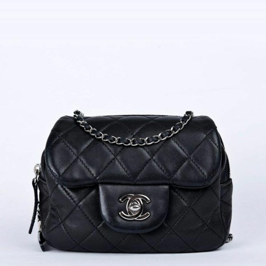 Chanelväska beganad väska